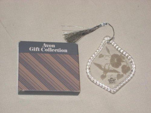 Vintage Avon Lead Crystal Hummingbird Ornament - Christmas Tree Ornament