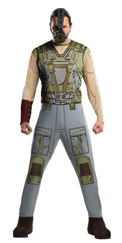 Batman The Dark Knight Rises Adult Bane Costume, Multi-Colored, Medium