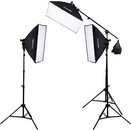 Interfit F5 3-Head Continuous Fluorescent 5600K Daylight Lighting Kit (3) 5  sc 1 st  Amazon.com & Amazon.com : Interfit F5 3-Head Continuous Fluorescent 5600K ...