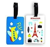 Li Te Ra Designer Luggage tags- Pack of 2