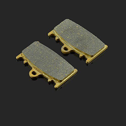 Price comparison product image JFG RACING 46.7x69.8x8MM 1 Pair Front Or Rear Brake Pads For KAWASAKI ZXR400 ZZR400 ZX400 ZX6R ZZR1100 VN1700 VN2000