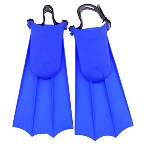 Swimming Flippers Diving Fins (Blue L) - 8