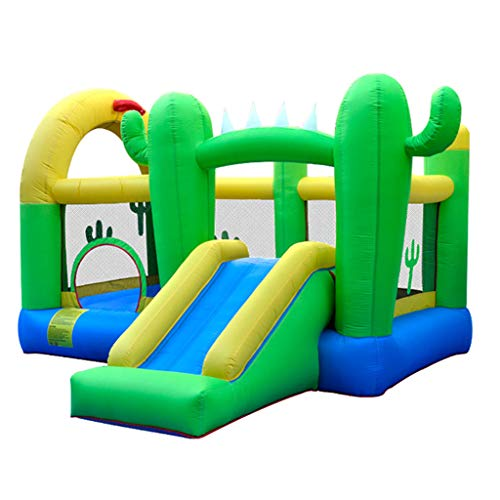 GUO XINFEN Inflatable Castle Indoor Castle Children's Playground Naughty, Indoor Family Bouncy Castle