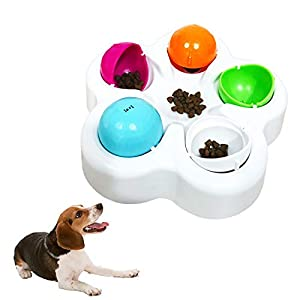 Pet IQ Intelligent Toy Smart Dog Puzzle Toys for Beginner, Puppy Treat Dispenser Interactive Dog Toys – Improve Your Dog's IQ, Specially Designed for Training Treats