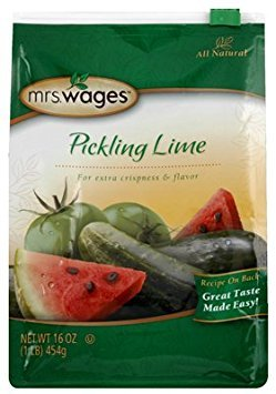 (Mrs. Wages W502-D3425 16 Oz, Pickling Lime - Quantity 4 )