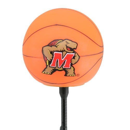 Terps Basketball Maryland - NCAA Maryland Terrapins Basketball Antenna Topper