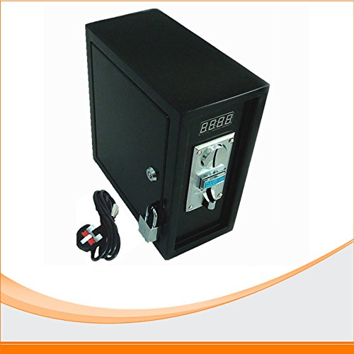 Coin operated Timer Control Board box with multi coin acceptor timer board