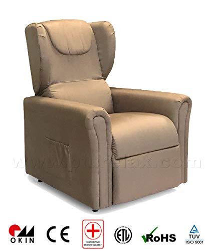 Poltrona Reclinabile Motorizzata.Poltrona Elettrica Per Anziani E Disabili Alzapersona Relax