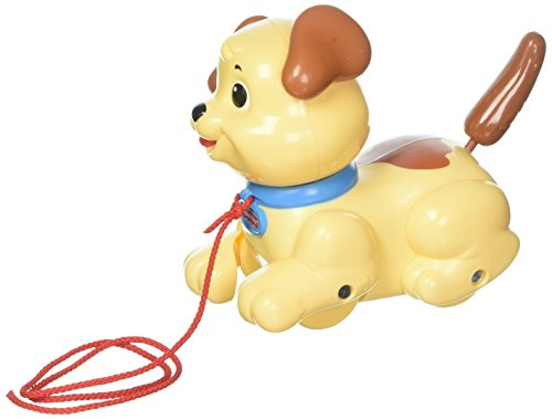 Fisher-Price Brilliant Basics Lil (Push Along Puppy)