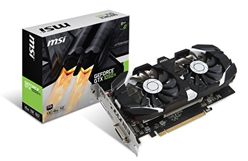 MSI Gaming GeForce GTX 1050 Ti 4GB GDRR5 128-bit HDCP Support DirectX 12 Dual Fan OC Graphics Card (GTX 1050 TI 4GT (Video Card Memory Interface)