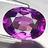 3.38ct Oval Purple Natural Sapphire Loose Gemstone