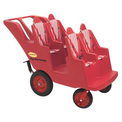 4 Passenger Original Slim Tire Bye-Bye Buggy Tandem Stroller Review