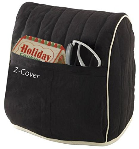 Best Mixer Cover For Tilt-Head Stand, Artisan and Classic Mixers - 100% Cotton, Z-Cover , Black by Z-COVER