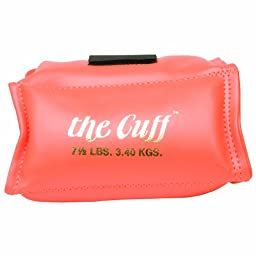 Cando 10-0212 Orange Cuff, 7.5 lbs Weight, For Wrist or Ankle