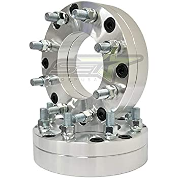 amazon com wheel adapter 6 lug 5 5 to 8 lug 6 5 pair automotive
