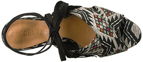 outlet pay with paypal SCHUTZ Women's Damila Dress Sandal Black Multi reliable for sale outlet get authentic sale countdown package cheap very cheap 5lyD4nuB