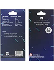 Thermalright Thermal Pad 12.8 W/mK, 85x45x2mm, Non Conductive Heat Resistance High Temperature Resistance, Silicone Thermal Pads for Laptop Heatsink/GPU/CPU/LED Cooler