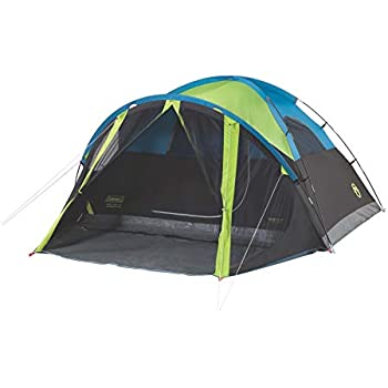 70f10fcaa74 Amazon.com   Coleman Carlsbad Dome Tent with Screen Room   Sports ...