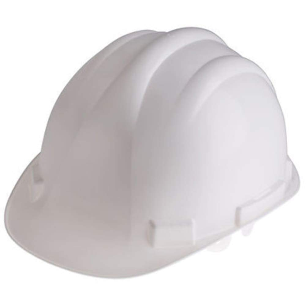 RS Pro HDPE Safety Helmet; White, Pack of 5