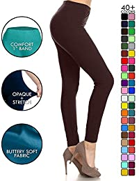 Buttery Soft Classic Leggings - 42+ Colors & Carry 1000+ Prints