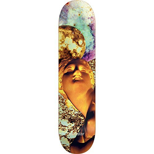 Darkstar Solar Skateboard Deck -7.75 Yellow DECK ONLY (Bundled with FREE 1