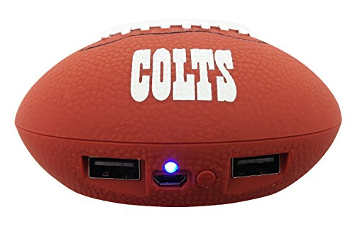 (UPI Marketing, Inc. NFL Indianapolis Colts Phone Charger, One Size, Brown)