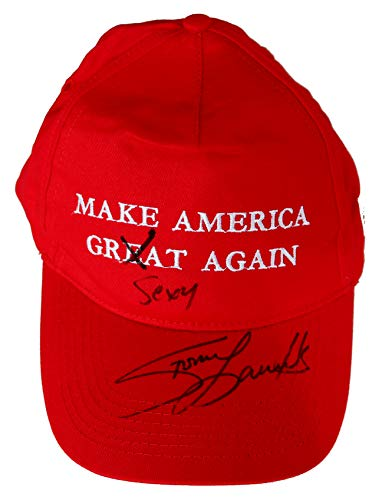 Stormy Daniels Signed Autographed Make America Great Sexy Again Baseball Cap Hat JSA Witnessed COA