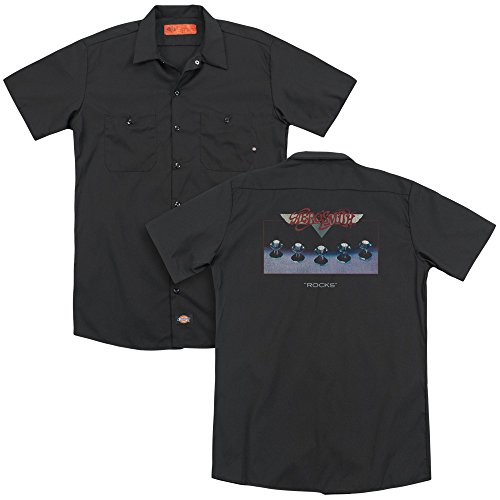 Opaque Noir Aerosmith Manches T Homme shirt Courtes vIpUq