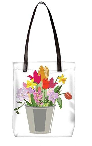 Snoogg Strandtasche, mehrfarbig (mehrfarbig) - LTR-BL-3808-ToteBag