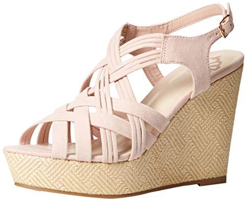 - Fergalicious Women's Marilyn Wedge Sandal, Rosy, 12 M US