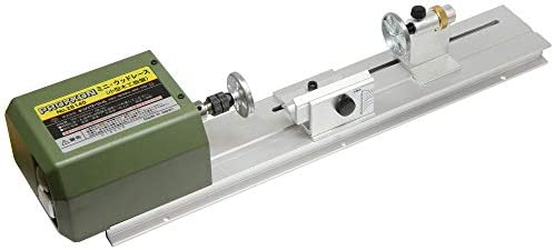 プロクソン(PROXXON) ミニウッドレース 小型卓上木工旋盤 ウキ・ルアーの制作に便利 No.28140
