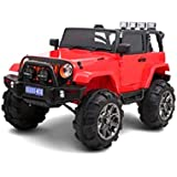 Jeep Style Ride-on Kids Car - 3299 Red Color