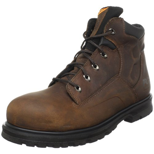 "Timberland PRO Men's Magnus 6"" Safety Toe Work Boot,Brown,7"