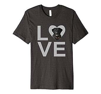 Men's Love Dogs Black Labrador Retriever 3XL Dark Heather