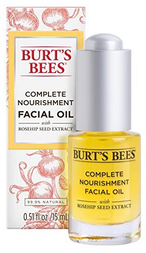 Burt's Bees Complete Nourishment Facial Oil, Anti-Aging