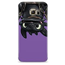 How To Train Your Dragon Toothless Upside Down Hard Plastic Snap-On Case Cover For Samsung Galaxy S6 Edge