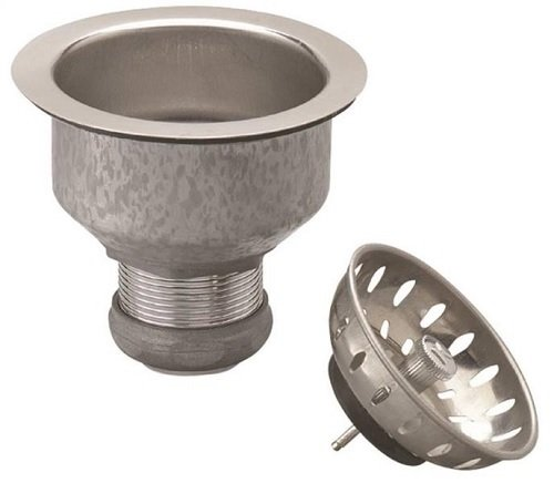 Strainer Sink Fixed Cup Ss by Plumb Pak