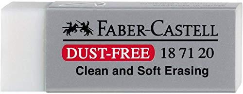 Faber-Castell DustFree – Goma De Borrar, Gris, 1 Unidad