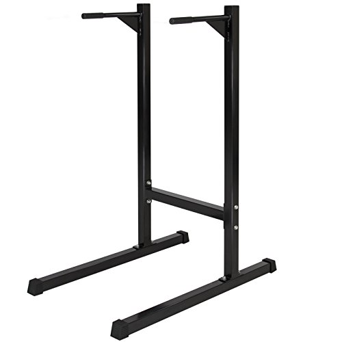 Dipping station Dip Stand Pull Push Up Bar Fitness Exercise Workout Gym 500lbs by CS_SHOP