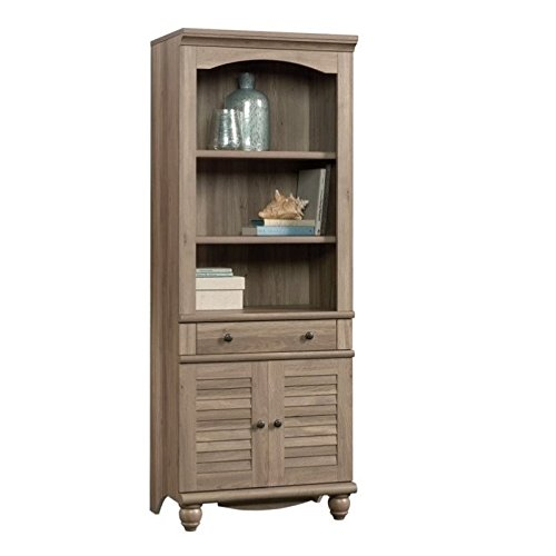 Sauder 419911 Harbor View Library with Doors, L: 27.21