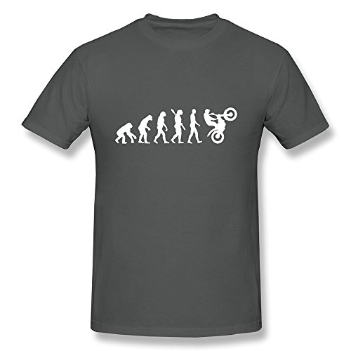 SNOWANG Men's Evolution Motocross T-shirt - Moto Portland