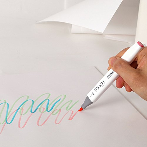 ShinHan TOUCH TWIN Brush Marker 60 Color Set B by TOUCH (Image #4)