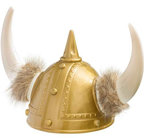 AMSCAN Viking Helmet Deluxe Halloween Costume Accessories, One Size