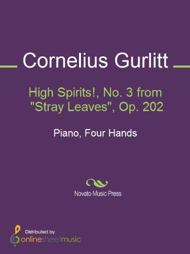 High Spirits!, No. 3 from Stray Leaves, Op. 202