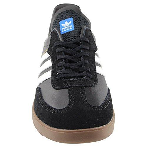 Adidas Uomo Skateboard Samba Adv Nero / Bianco / Gomma