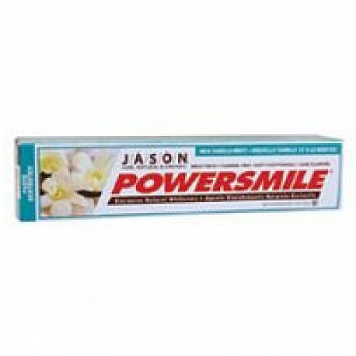 Jason's Powersmile Vanilla Mint Toothpaste ( 1x6 OZ) by Jason Natural