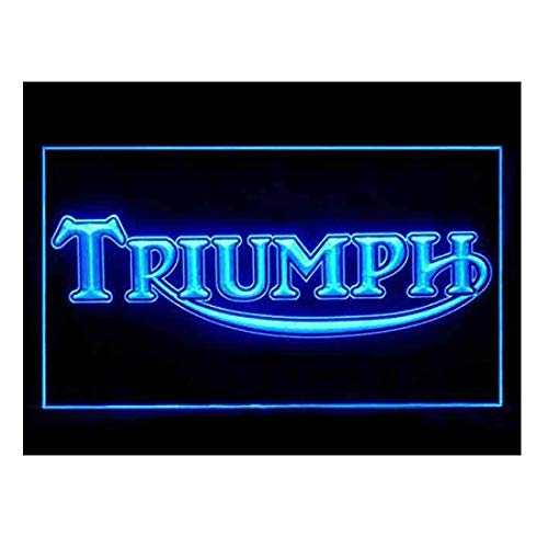 Triumph Motorcycles Parts Services LED Light Sign (The Neon Signs Of Service)