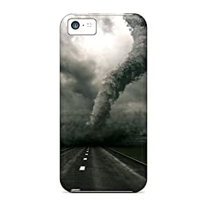 Saraumes Fashion Protective Tornado Case Cover For Iphone 5c