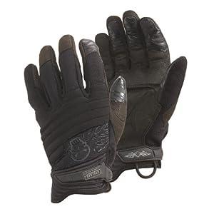 CamelBak Black Hi Tech Impact II CT Gloves with Logo