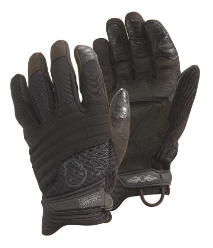 CamelBak Black Hi-Tech Impact II CT Gloves with Logo (X-Large), Outdoor Stuffs
